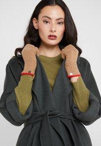 Lauren Ralph Lauren - TOUCH GLOVE - Gants - classic camel - 0