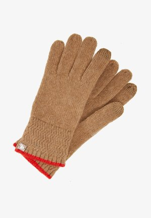 TOUCH GLOVE - Gants - classic camel