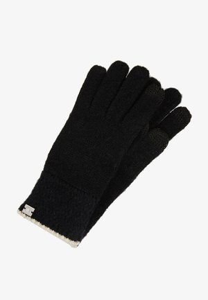 TOUCH GLOVE - Fingerhandschuh - black/cream