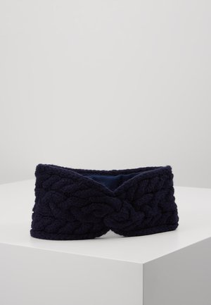 BLEND CABLE HEADBAND - Ohrenwärmer - navy