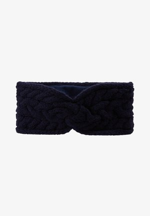 BLEND CABLE HEADBAND - Ear warmers - navy