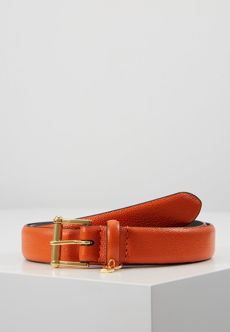 Lauren Ralph Lauren - BELT WITH SCULPTED - Belt - pumpkin