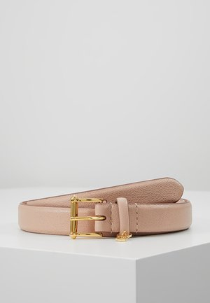 BELT WITH SCULPTED - Gürtel - mellow pink