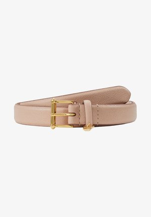 BELT WITH SCULPTED - Pasek - mellow pink