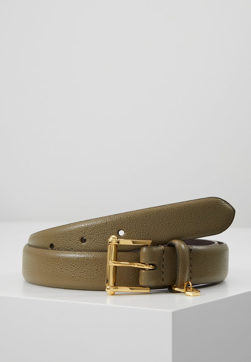 Lauren Ralph Lauren - BELT WITH SCULPTED - Pásek - sage