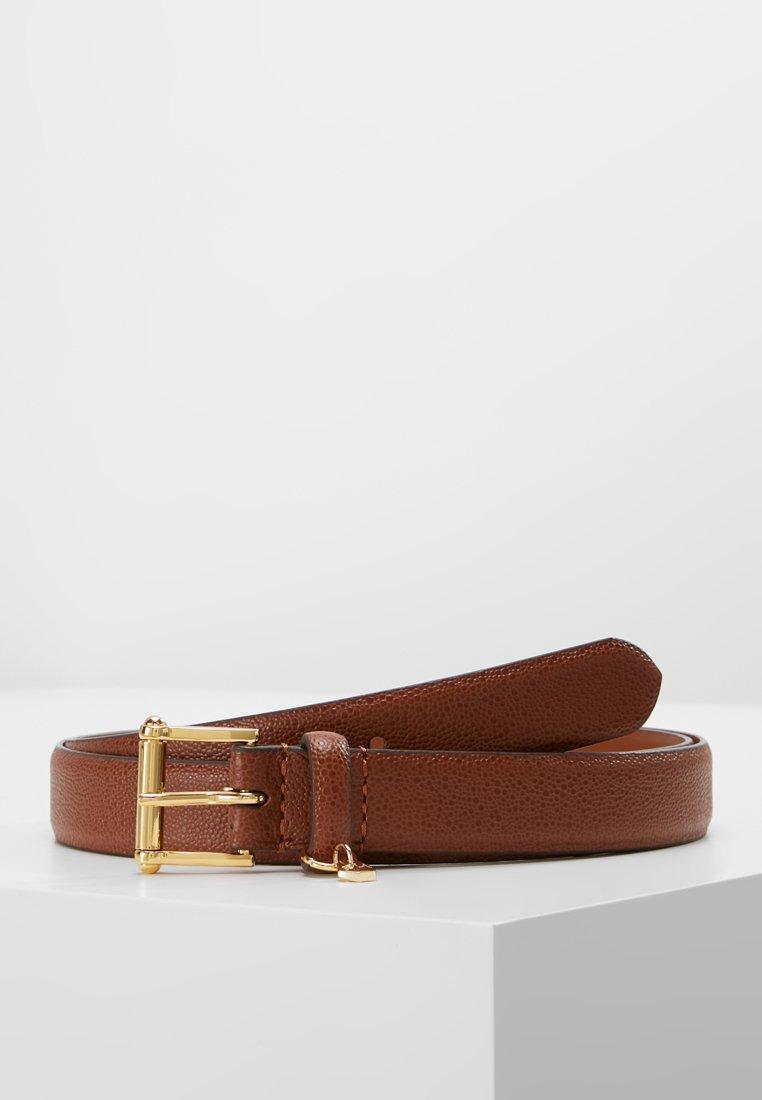 Lauren Ralph Lauren - BELT WITH SCULPTED - Belt - bourbon