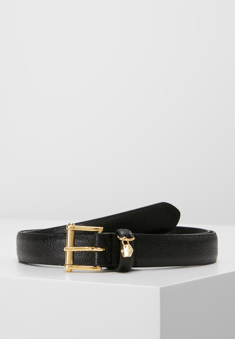 Lauren Ralph Lauren - BELT WITH SCULPTED - Cinturón - black