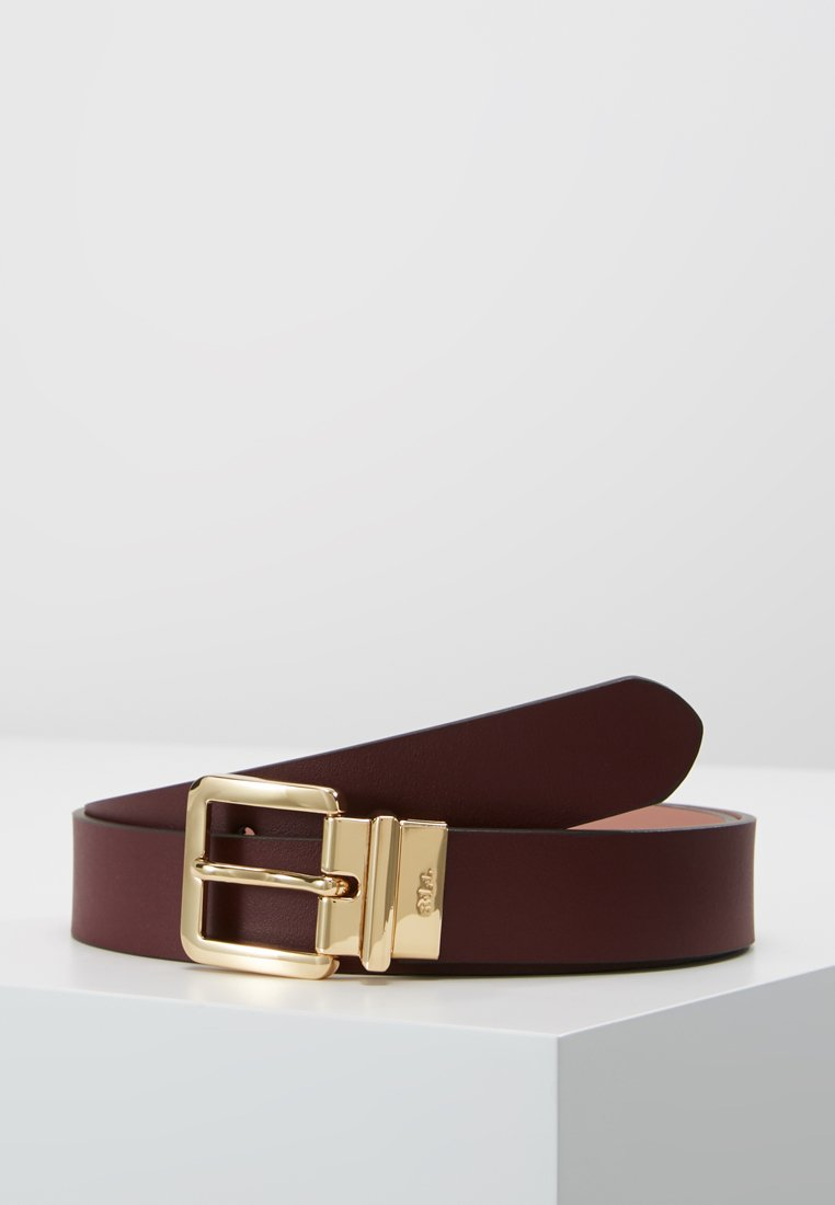 Lauren Ralph Lauren - SUPER SMOOTH  - Ceinture - merlot/rose smoke