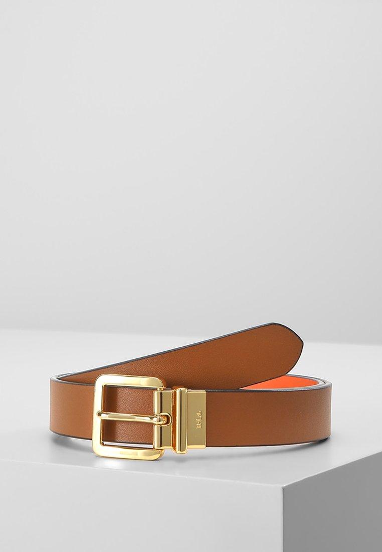 Lauren Ralph Lauren - SUPER SMOOTH  - Belt - field brown/monar