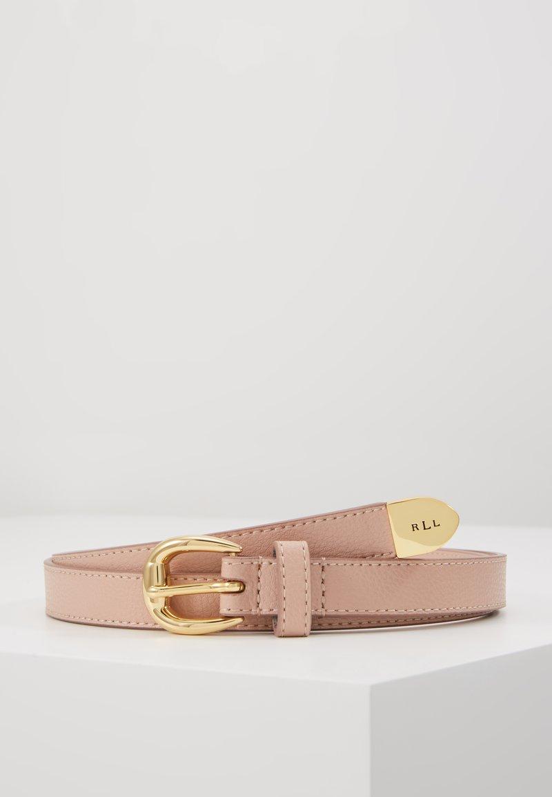 Lauren Ralph Lauren - SOFT GRAIN BENNINGTON - Pásek - mellow pink