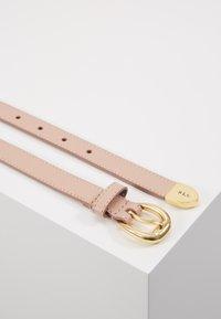 Lauren Ralph Lauren - SOFT GRAIN BENNINGTON - Pásek - mellow pink - 3