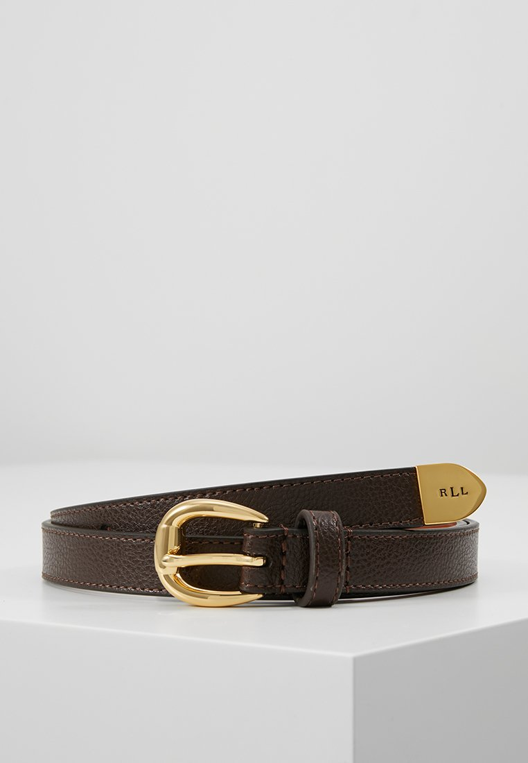 Lauren Ralph Lauren - SOFT GRAIN BENNINGTON - Riem - dark brown