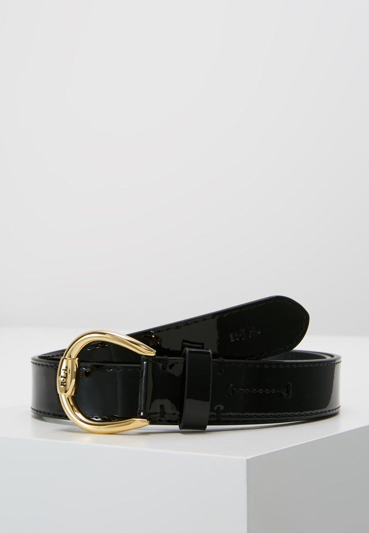 Lauren Ralph Lauren - PATENT BENNINGTON - Belt - black