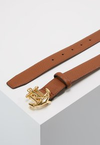 Lauren Ralph Lauren - HUNTLEY CASUAL ANCHOR LOGO - Ceinture - tan - 2