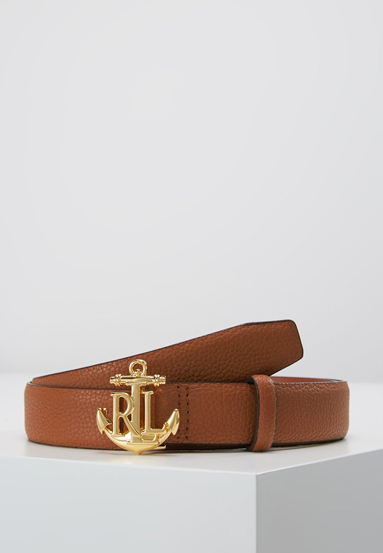 Lauren Ralph Lauren - HUNTLEY CASUAL ANCHOR LOGO - Ceinture - tan