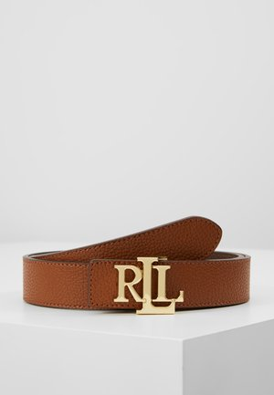 Ceinture - lauren tan/dark brown