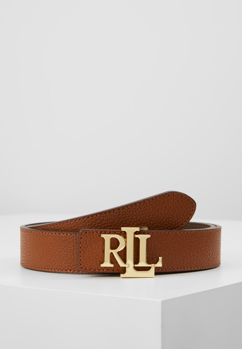 Lauren Ralph Lauren - Cintura - lauren tan/dark brown