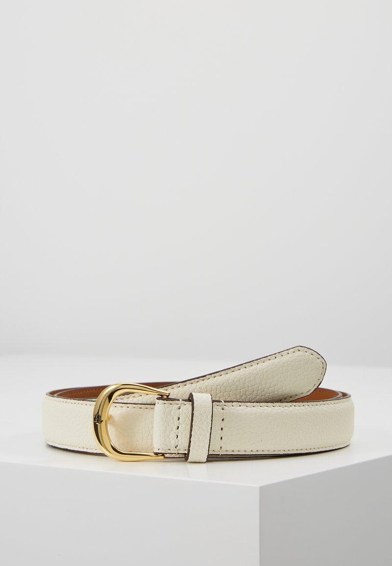 Lauren Ralph Lauren - CLASSIC KENTON - Belt - vanilla