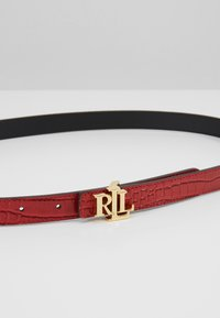 Lauren Ralph Lauren - Vyö - red/black - 5