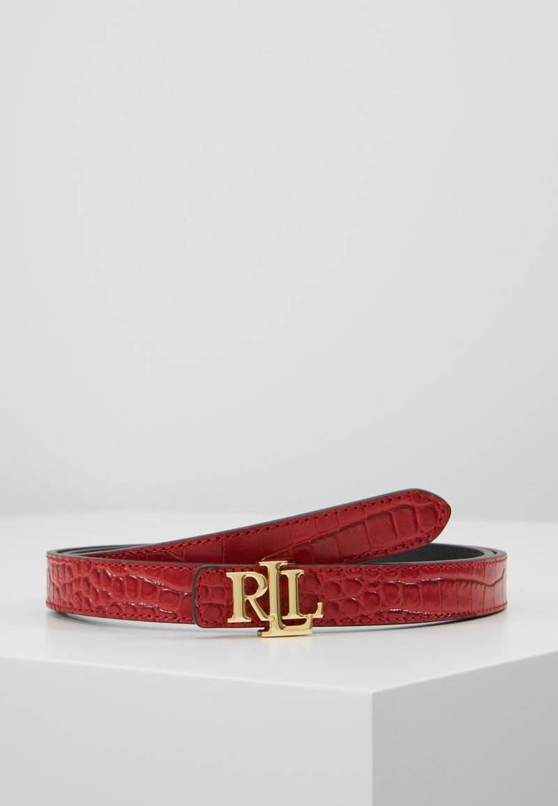 Lauren Ralph Lauren - Vyö - red/black