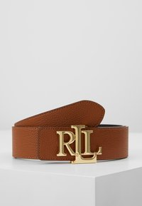 Lauren Ralph Lauren - Belt - black/lauren tan - 3