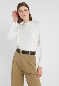 Lauren Ralph Lauren - Belt - black/lauren tan - 1