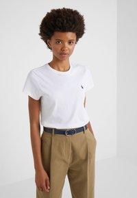 Lauren Ralph Lauren - CLASSIC - Belte - navy/dark brown - 1