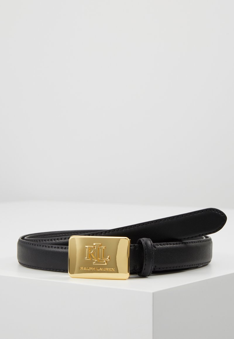 Lauren Ralph Lauren - SUPER SMOOTH LOGO - Belt - black