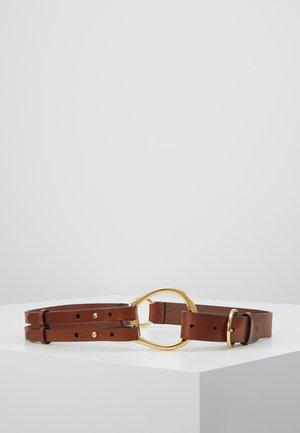 REFINED TRI STRAP  - Taljebælter - cuoio