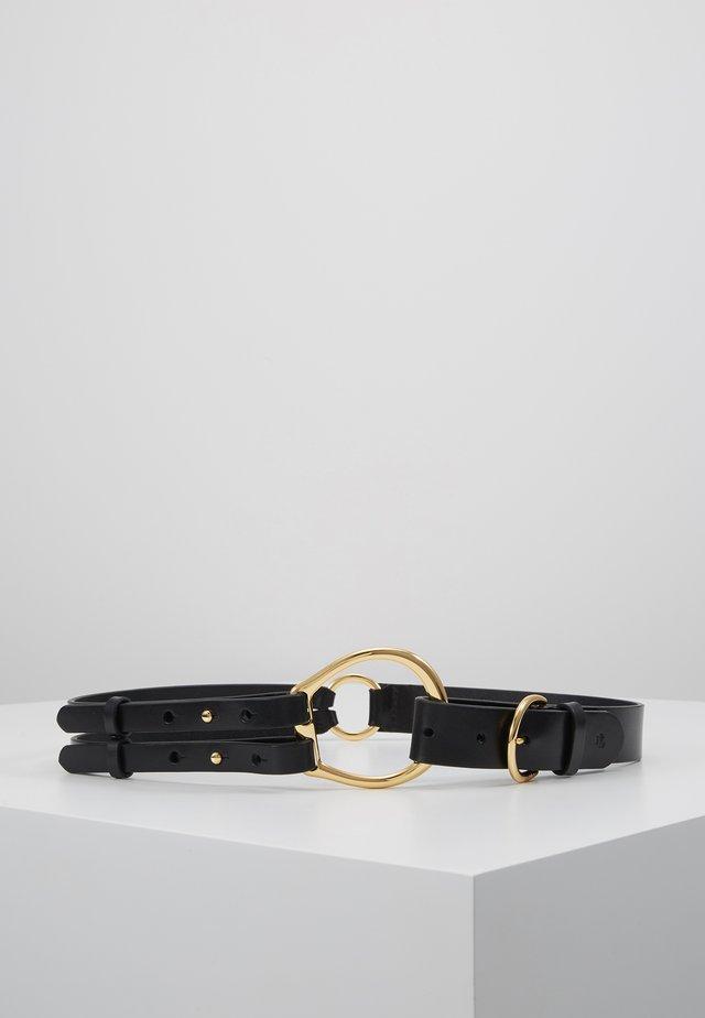 REFINED TRI STRAP  - Waist belt - black