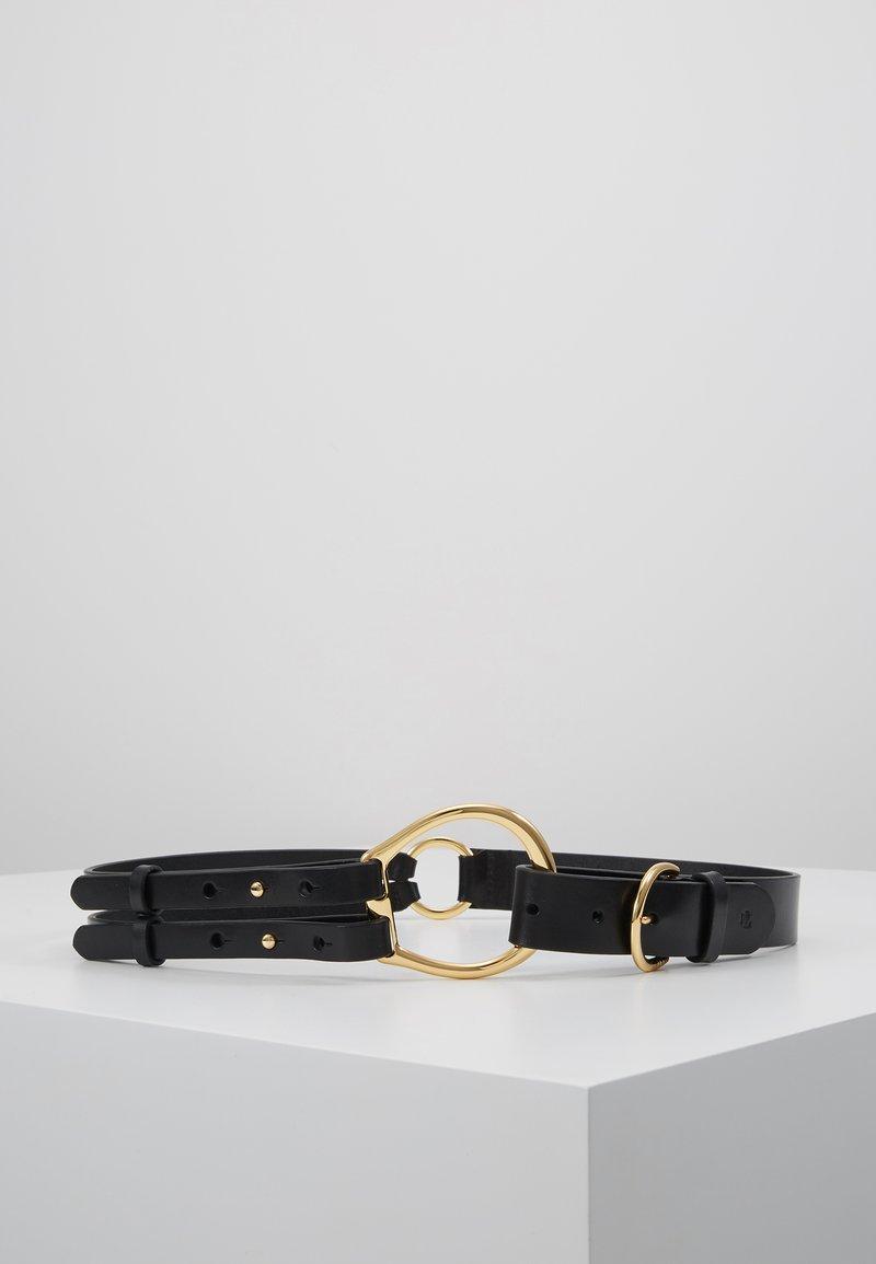 Lauren Ralph Lauren - REFINED TRI STRAP  - Midjebelte - black