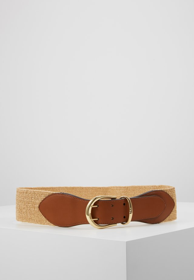 CORNWALL - Waist belt - natural
