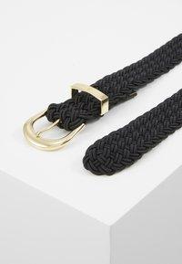 Lauren Ralph Lauren - ELASTIC BRAID - Cinturón - black - 3