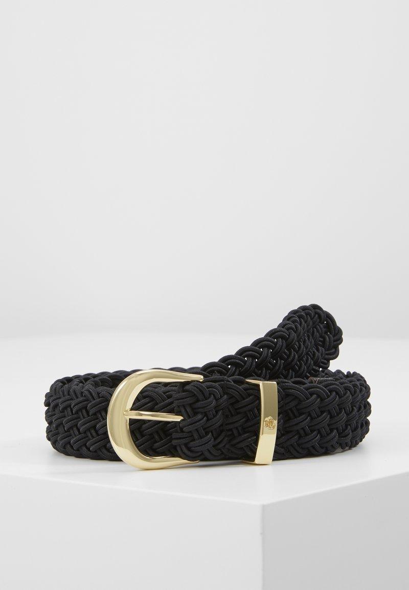 Lauren Ralph Lauren - ELASTIC BRAID - Cinturón - black