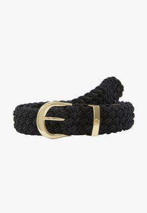 ELASTIC BRAID - Belte - black