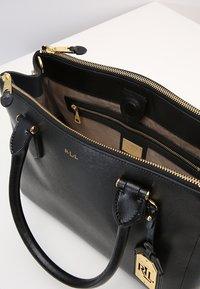 Lauren Ralph Lauren - NEWBURY - Handtasche - black/gold - 5