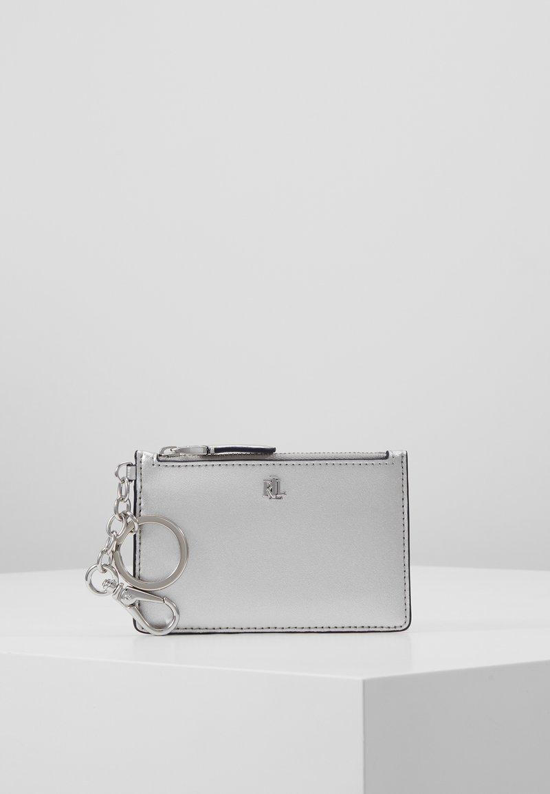 Lauren Ralph Lauren - SUPER SMOOTH ZIP - Lommebok - bright silver