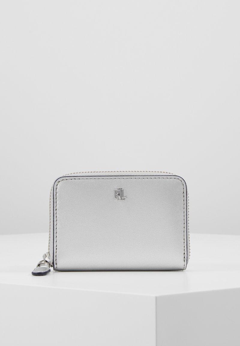 Lauren Ralph Lauren - SUPER SMOOTH ZIP  - Peněženka - bright silver