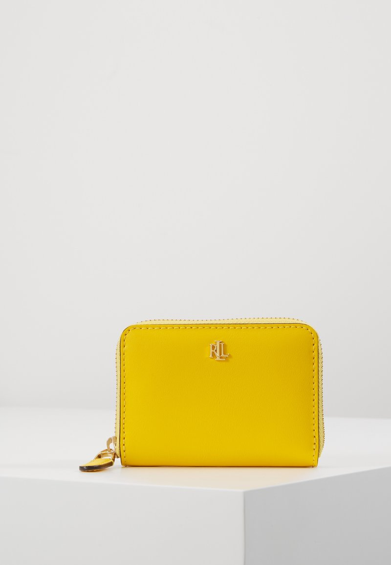Lauren Ralph Lauren - SUPER SMOOTH ZIP  - Portemonnee - racing yellow