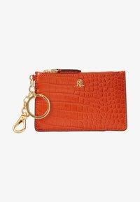Lauren Ralph Lauren - ZIP CARD CASE MEDIUM - Visitekaarthouder - sailing orange - 1