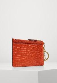 Lauren Ralph Lauren - ZIP CARD CASE MEDIUM - Visitekaarthouder - sailing orange - 3
