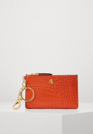 ZIP CARD CASE MEDIUM - Visitenkartenetui - sailing orange