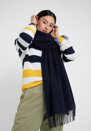BLANKET WRAP - Sjaal - navy