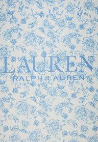 Lauren Ralph Lauren - ALEXA - Foulard - cream / toile blue - 1