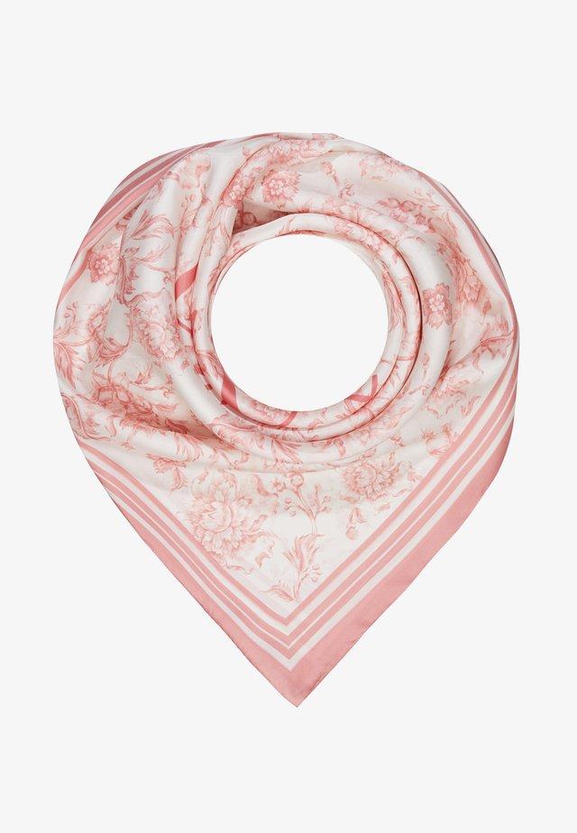 ALEXA - Foulard - cream/pink