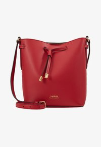 Lauren Ralph Lauren - SUPER SMOOTH DEBBY - Sac bandoulière - red/truffl - 2
