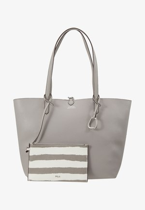VEGAN TOTE - Handbag - driver grey/paint