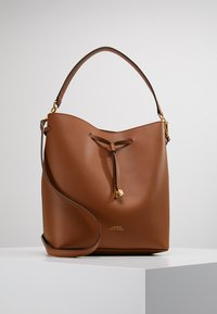 Lauren Ralph Lauren - SUPER SMOOTH DEBBY - Handbag - field brown/orange - 0