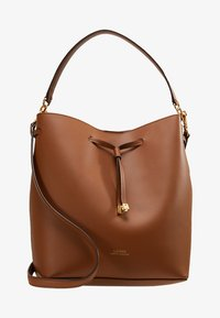 Lauren Ralph Lauren - SUPER SMOOTH DEBBY - Handbag - field brown/orange - 5