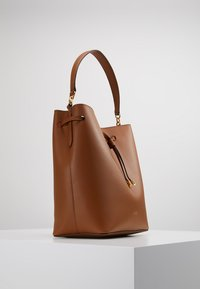Lauren Ralph Lauren - SUPER SMOOTH DEBBY - Handbag - field brown/orange - 3